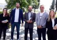 Doniranje knjiga za obogaćenje sadržaja biblioteke Upravi za izvršenje krivičnih sankcija (UIKS), Podgorica, 23. 05. 2019.
