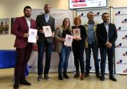 Dodjela nagrada za najbolji istraživački novinarski tekst u oblasti ljudskih prava, Podgorica, 9. Novembar 2018.