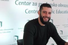 Aleksandar Radonjić, asistent na projektima