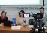 Predstavljanje nalaza istraživanja o transparentnosti pravosuđa, konferencija za medije, 17.04.2019, Podgorica