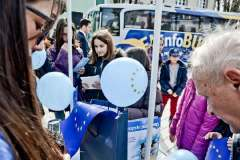 """CGO - Početak projekta """"EU info bus – na putu ka Evropskoj uniji"""", Cetinje, 14. februar 2013."""