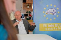 CCE - EU info bus in Mojkovac, 16 April 2013