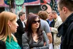 "CGO - Predstavljanje  dokumentarnog filma ""Evropa u mom gradu"",  24. april 2012, sala Centra za građansko obrazovanje, Podgorica"