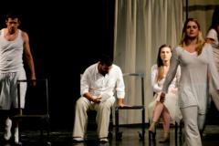 CGO - Pozorišna predstava Hipermnezija u okviru kampanje Za REKOM, Podgorica, 7. novembar 2011.