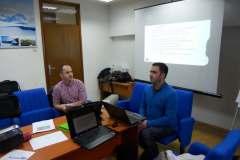 """CGO - Prezentacija projekta """"Umrežavanje civilnog društva u vezi sa ugroženim ljudskim pravima u Srbiji, Crnoj Gori i Kosovu"""", Kolašin, 9. april 2013."""