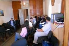 """CGO - Prezentacija projekta """"Umrežavanje civilnog društva u vezi sa ugroženim ljudskim pravima u Srbiji, Crnoj Gori i Kosovu"""", Herceg Novi, 10. april 2013."""