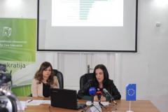 CGO - Predstavljanje istraživanja javnog mnjenja o korupciji u obrazovanju, konferencija za medije, 19. januar 2016.
