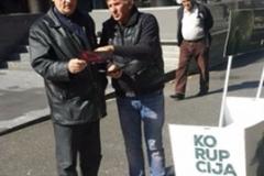 CGO - Promotivna kampanja – distribucija lifleta, Pljevlja, 04. 10. 2017.