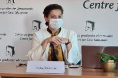 Predstavljanje rezultata istraživanja stavova učenika/ca srednjih škola u Crnoj Gori prema LGBTIQ osobama, 20. Novembar 2020.