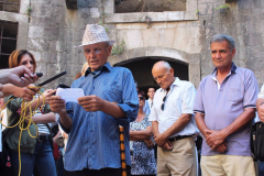 CGO - Obilježavanje 72 godine od rasformiranja logora Mamula, ostrvo Lastavica, 12. septembar 2015.