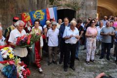 Marking commemoration of victims in Mamula Camp, island of Lastavica, 15/09/2018
