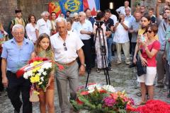 Obilježavanje sjećanja na stradale u logoru Mamula, ostrvo Lastavica, 15.09.2018.