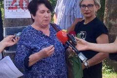 Obilježavanje 26. godine od ratnog zločina protiv izbjeglica iz BiH, Herceg Novi, 25. maj 2018.