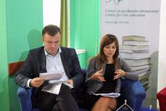 CGO - Nove inicijative za stabilnost i prosperitet na zapadnom Balkanu, panel diskusija, Podgorica, 29. septembar 2015.