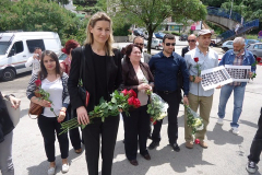 CGO - Obilježavanje 23. godine od ratnog zločina protiv izbjeglica iz BiH, Herceg Novi, 25. maj 2015.