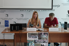 """CGO - Obilježavanje Međunarodnog dana nestalih, Udruženje porodica nestalih, kidnapovanih i ubijenih lica """"Crveni božur"""" i CGO, Podgorica, 30. 08.2017."""