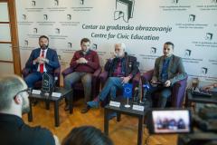 Panel diskusija - Demokratija i političke partije: kome su odgovorni poslanici građanima ili partijama?  Podgorica 11. 04. 2019