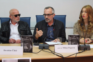 """CGO - Promocija """"Knjige o ljubavi"""" autora Ibrahima Čikića i obilježavanje Međunarodnog dana borbe protiv fašizma, antisemitizma i ksenofobije, Podgorica, 9. novembar 2016."""