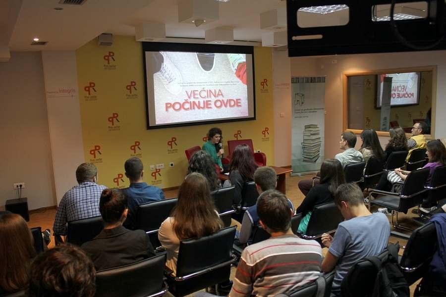 CGO - Crnogorska premijera dokumentarnog filma Većina počinje ovde, 30. oktobar 2013, Podgorica